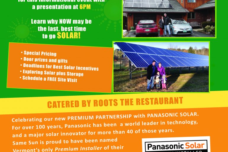 May 14th Solar Event at the Paramount Theatre