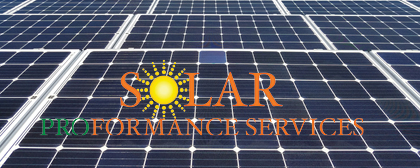 Introducing Solar Proformance Services